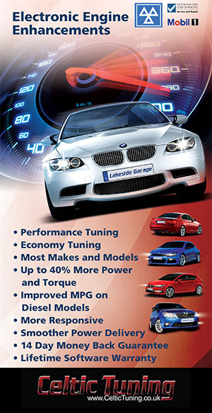 Engine remapping with Celtic Tuning