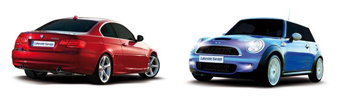 BMW Mini mot, servicing and diagnostics