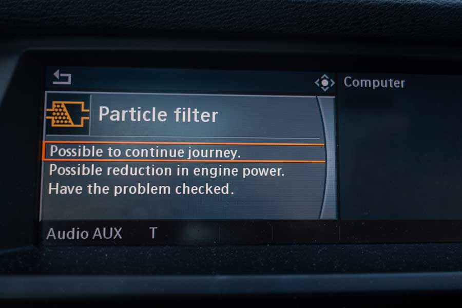 DPF particle filter